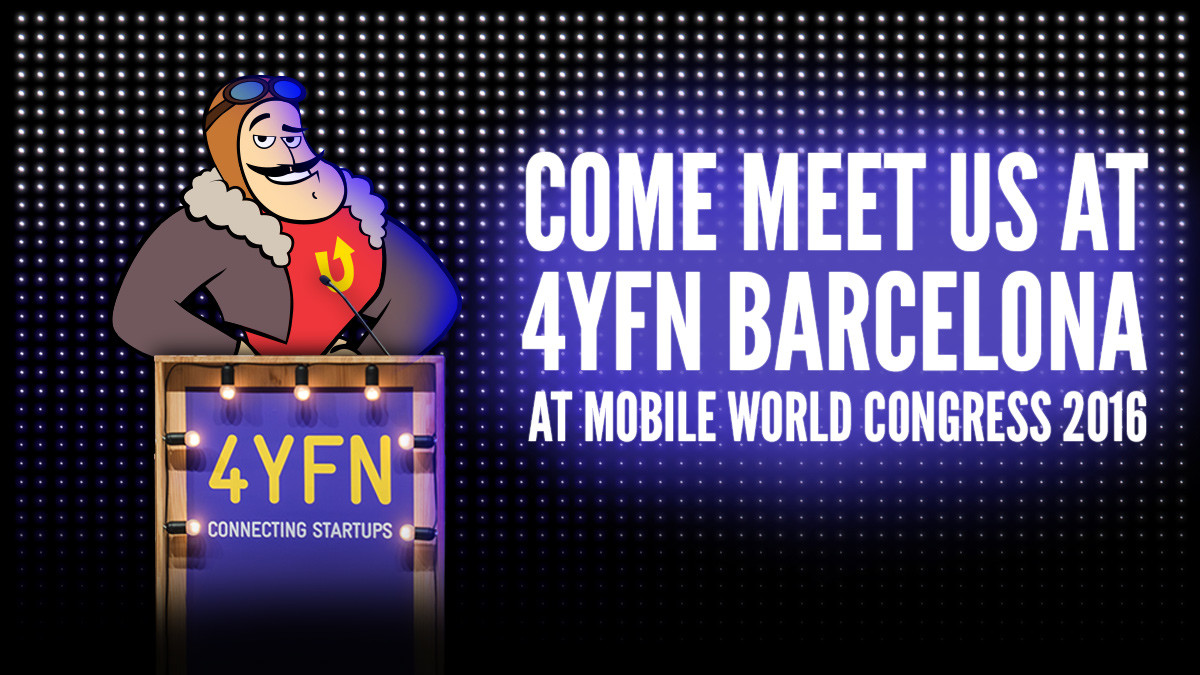 Join our session at 4YFN  [4 Years From Now], Mobile World Congress 2016!